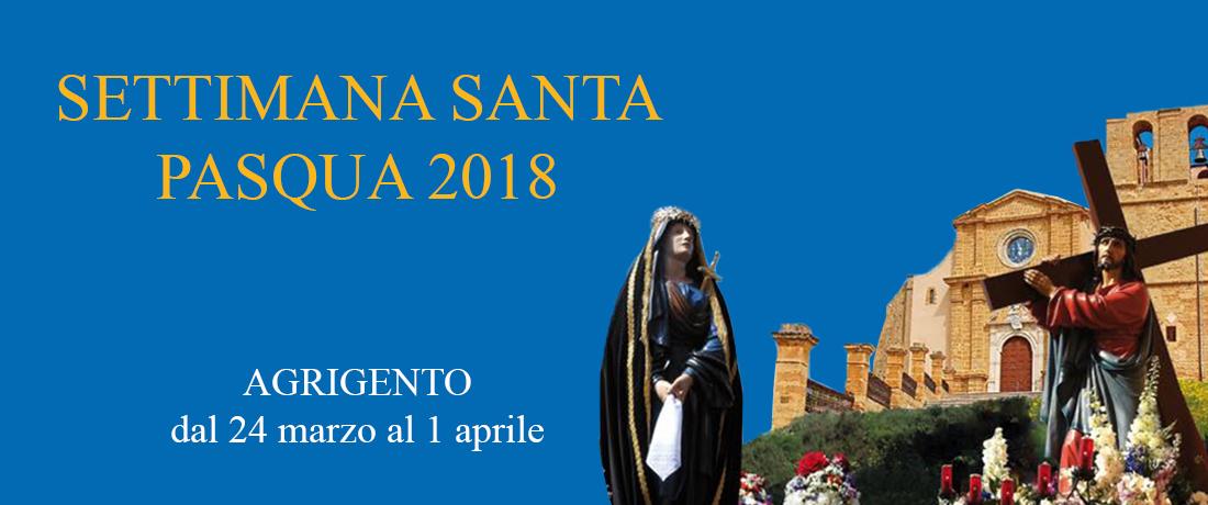 Programma Settimana Santa 2018